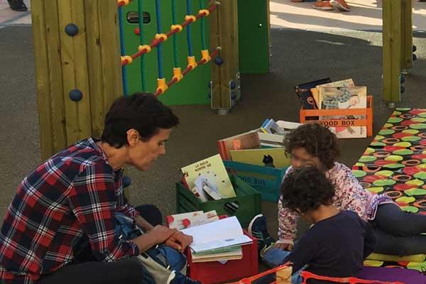 Biblioteca infantil movil valencia